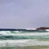 'Ocean (Bilgola Head) 2009 no.2' 153x153cm