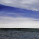 'Ocean (violet green) no.74 2004' 137x137cm