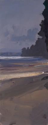 'Sketch (Pumicestone Channel) 2009 no.4' 33x13cm