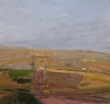 'Sketch (Paterson) no.2 2007' 16x17cm  oil on board