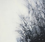 'Darkwood no.9' 183 x 198cm, oil on linen, 2011