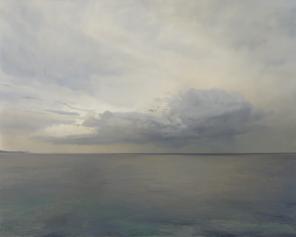 Ocean (Tasman Sea) no.3 2013 122x153cm oil on linen