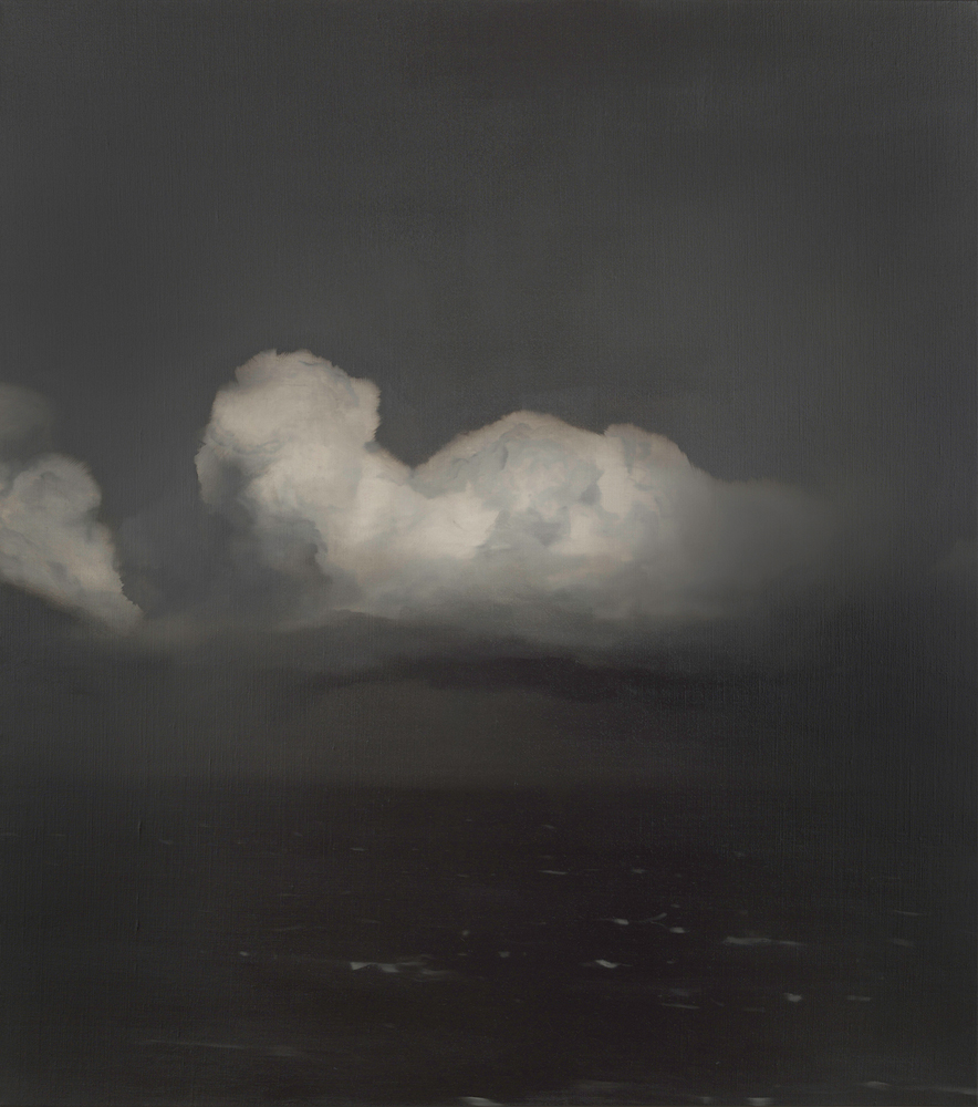 Weather System (Tasman Sea) no.20 Oil on linen, 137 x 1222015